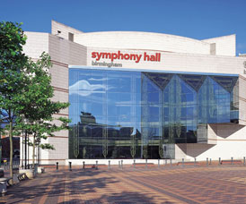 Symphony Hall outside