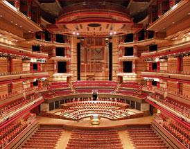 Symphony Hall inside